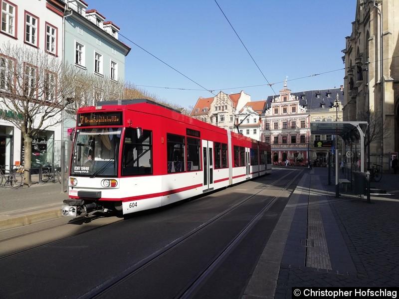 TW 604 als Linie 7
